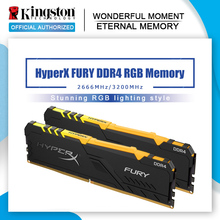 DIMM Memory-Rams Hyperx Fury DDR4 2666mhz 3200mhz Desktop 16G XMP RGB 8g for 32g-Kit
