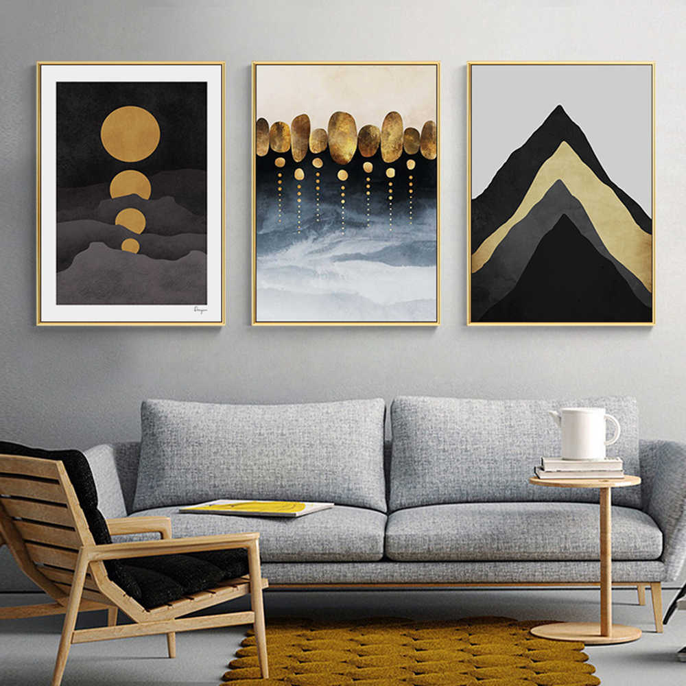 Beauty Light Luxury Triptych Posters And Prints Canvas Painting Bedroom Wall Pictures Home Decor Cuadros