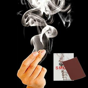 10Pcs Finger Magic Tricks Tips Surprise Magic Smokes Fingers Hand Make Smoke Magic Props Comedy Joke Mystery Fun Kids Toys Gifts