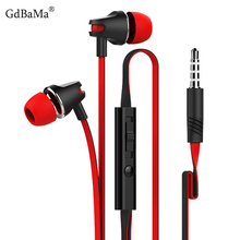 3.5mm In-ear for Smartphone Earphone with Microphone Wire Headset For Meizu MP3 MP4 iPhone 11 for Xiaomi Huawei p20 Sony Samsung цена в Москве и Питере