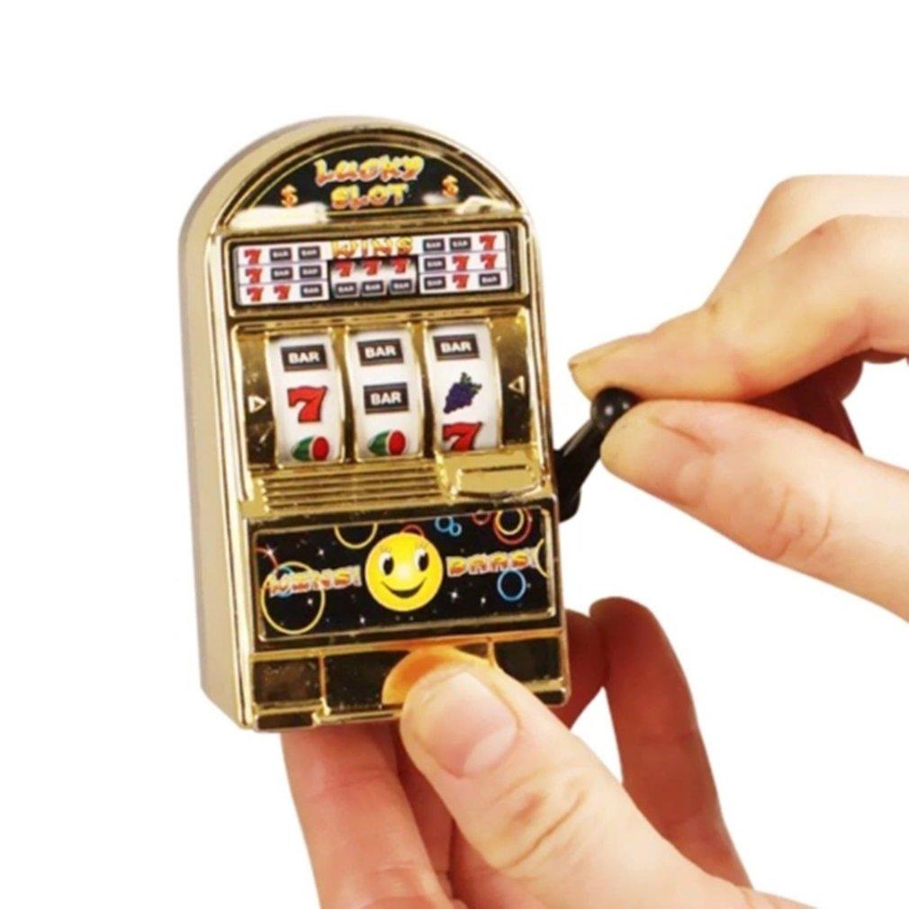 Funny Toy Metal Mini Lucky Slot Machine Entertainment Tool For Fun Funny Toy Metal Mini Lucky Slot Machine Entertainment Tool