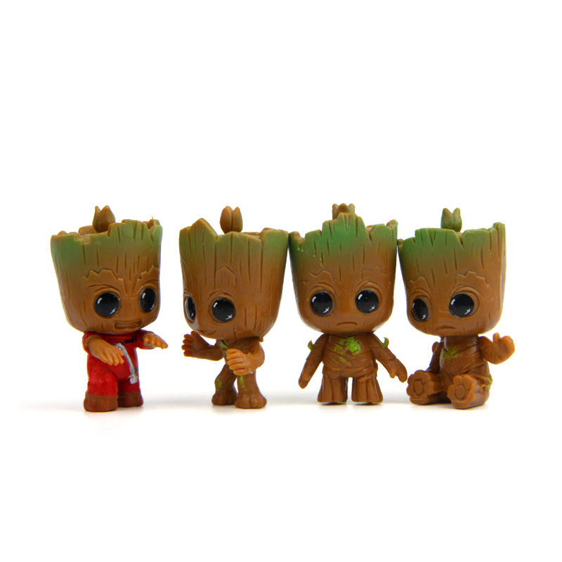 Disney Store Guardians of the Galaxy GROOT FIGURINE Cake TOPPER Marvel TOY NEW