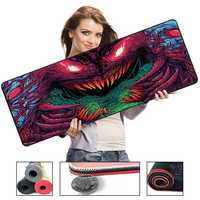 700*300*2 Size Monster Series High Speed Mousepad Large Gaming Mouse Pad Lockedge Keyboard Pad Mouse Mat For Overwatch CSGO LOL