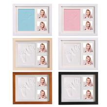 Baby 0-6 months old inkless handprint and paw print kit, gift decoration souvenir for newborn for party xmas  gifts