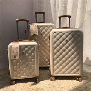 Suitcase Bags Rolling-Luggage Valise Travel Trolley Carry-On Luxury Brand Spinner British