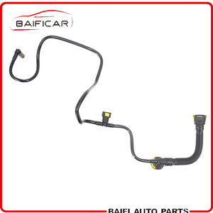 Baificar Brand New Genuine Engine Rocker Cover Breather Pipes Crankcase Exhaust Hose Pipes For Peugeot 206 207 Citroen C2 1.4(China)