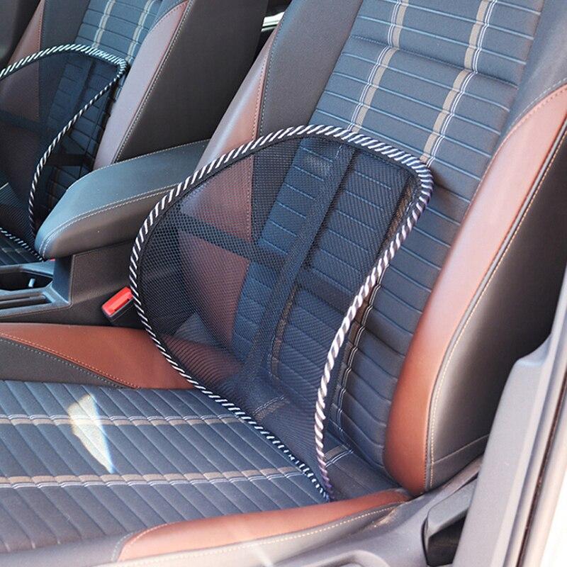 Chair Cushion Pillows Headrest Massage Car-Seat Back-Support And Lumbar
