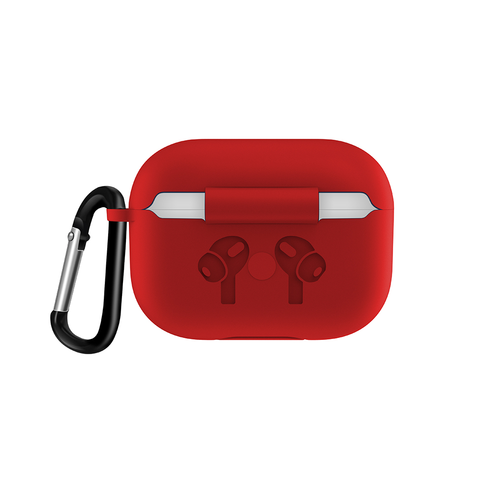 Silicone Case with Anti Lost Buckle for AirPods Pro 37
