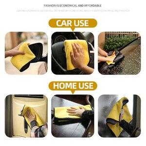 Image 4 - 3/5/10 Stuks Extra Zachte Wasstraat Microfiber Handdoek Car Cleaning Drogen Doek Car Care Doek Detaillering Auto Washtowel nooit Scrat