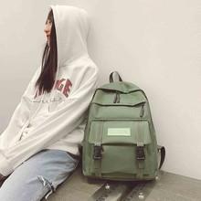Nowe damskie plecaki Oxford wodoodporne plecaki szkolne dla nastolatków dziewczęta plecaki na laptopa Patchwork plecak #28bagpack tanie tanio xiniu Tłoczenie WOMEN Rama zewnętrzna 20-35 litr Wnętrze slot kieszeń Kieszeń na telefon komórkowy Wewnętrzna kieszeń