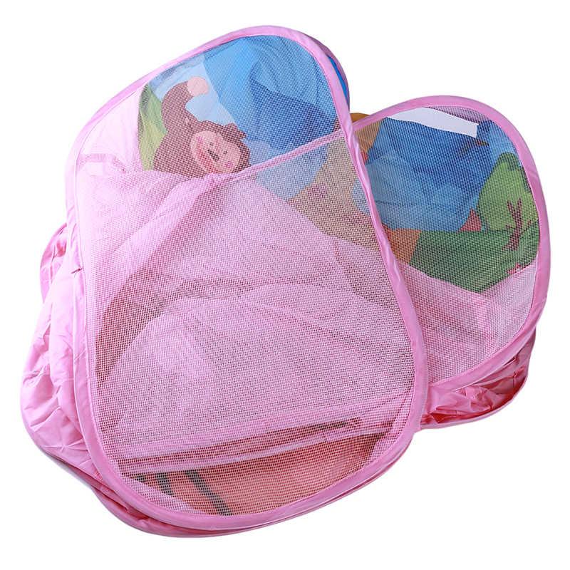 Portable Bayi Boks Anak-anak Kolam Bola Kolam Renang Bermain Tenda Anak-anak Aman Lipat Playlist Permainan Kolam Renang Bola untuk Anak-anak hadiah