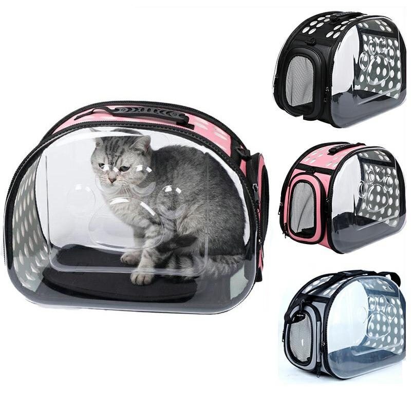 Kat Carrier Zakken Ademend Pet Carriers Kleine Hond Kat Rugzak Reizen Ruimte Capsule Kooi Huisdier Transport Bag Draagtas Voor Katten