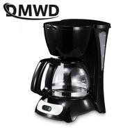 DMWD Automatische Elektrische Espresso Kaffee Maker Cafe Tropf Amerikanischen Latte Kaffee Brauen Maschine Glas Kessel Haushalt Mini Teekanne|Kaffee-und Espressomaschinen|Haushaltsgeräte -