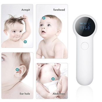 Forehead Thermometer for Adults  Infrared   Thermometer for Fever Sutiable for Baby  and Outdoor Use with    Thermometer