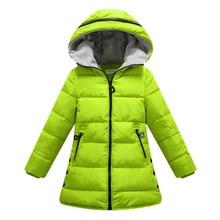 Spring Autumn Winter Jacket for Girls Clothes Cotton Padded Hooded Kids Coat Children Clothing Girl Parkas Enfant Jacket & Coats