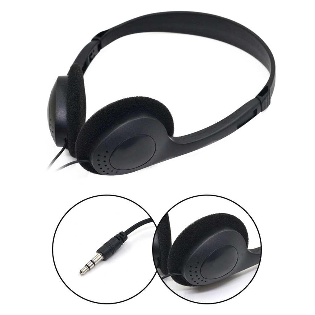 3.5mm Wired Stereo Headset Noise Cancelling Earphone Microphone Computer Laptop Headphone 2 Interfaces|Earphones & Headphones|   - AliExpress