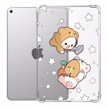 Чехол с мультяшными медведями для ipad Air 4 7-го поколения 10,2 8th Pro 11 2020, чехол с защитой от падения Mini 2 3 4 5, чехол 9,7 Air 2 Pro 12 9 2018