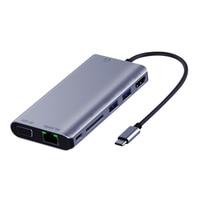 Usbc к Rj45 Lan 4K Hdmi Vga 2Usb 3,0 Sd слот для карт 8 в 1 Тип C док-адаптер концентратор для Macbook для samsung huawei Dex режим