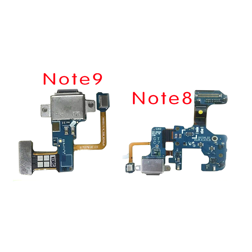 Microphone Module+USB Charging Port Board Flex Cable Connector Parts For Samsung  Note8 N950F Note9 N960F Note10 N970F