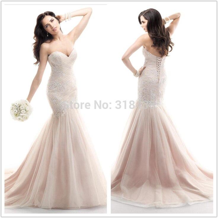 New Design Vintage Wedding Dresses Mermaid Wedding Dresses 2020 Tulle Lace Wedding Dress Appliques Bridal Gown VESTIDO DE NOIVA
