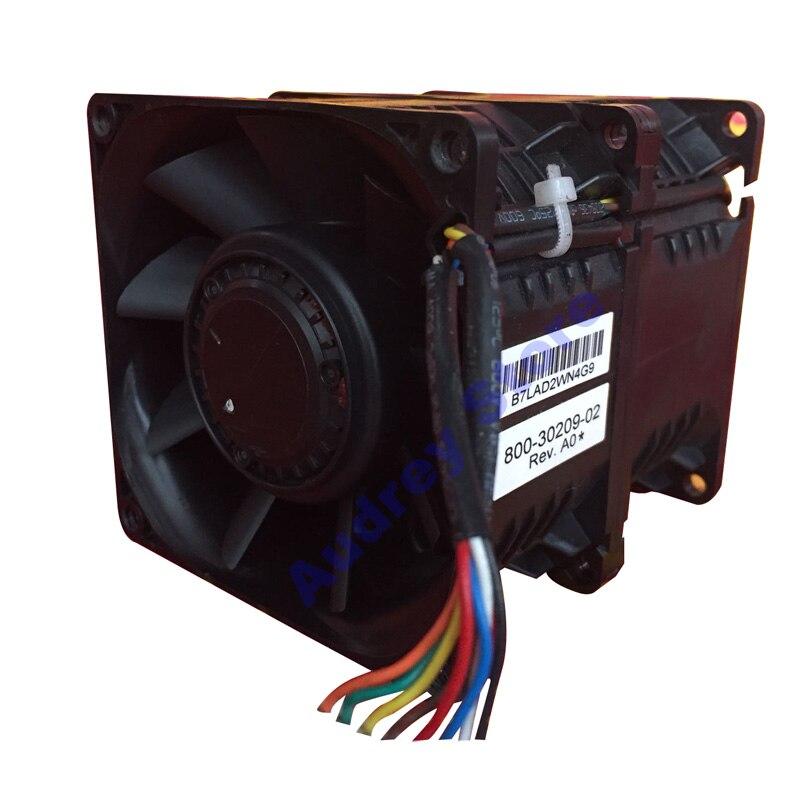 Ventilador de ar Original Nidec 4.68a 8089 Super Carro Impulsionador 56.16 w 9650 Rpm 138cfm 646 pa C80v12bs1aj-70 12 v