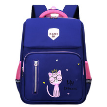Waterproof Children School Bags for Girls Boys backpacks Kids Orthopedic schoolbags Primary school Backpacks mochila escolar cheap SEVEN STAR FOX NYLON zipper Solid 32cm 21cm 41cm 0 76kg