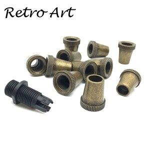 Image 1 - Abrazadera de Cable de lámpara, Cable de metal, alivio de tensión, agarre de Cable roscado