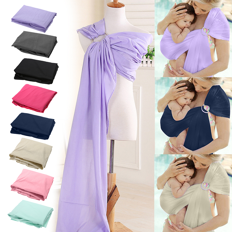 Infant Sling Wrap Cotton Kid Baby Infant Carrier Soft Baby Sling Carrier Breathable Wrap For Newborns Best Shower Gift