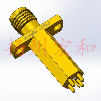 1605J 5-pin kwiat śliwy sonda wysokiej częstotliwości RF głowica testowa SMA żeńskie pięć rdzeń kwiat śliwy igły sygnału K-50L-Q-G tanie i dobre opinie CN (pochodzenie)