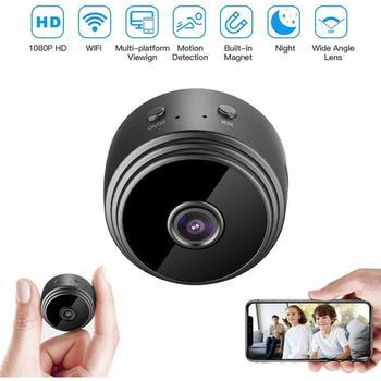 1080 Wifi Mini Camera Wireless IP Wide Angle Camera Home Security Cam DVR Night Sight Network Monitor Miniature Camera Camcorder 1