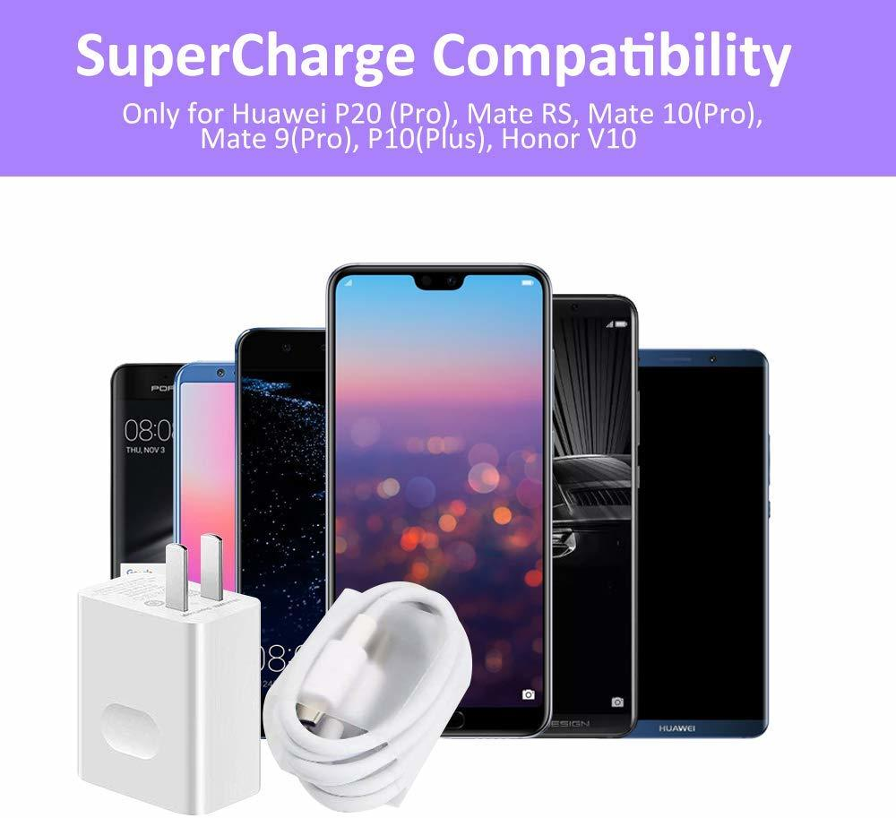 20 Huawei Original Fast Charger Mate 20 Pro P20 Mate 9 10 Supercharge Quick Travel Wall Adapter 4.5v5a/5v4.5a Type-c 3.0 Usb Cable (4)
