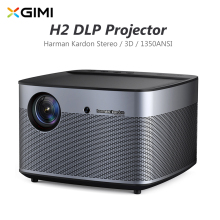 XGIMI H2 XHAD01 DLP Projector 1350 ANSI Lumen Home Theater 1080P Full HD Harman