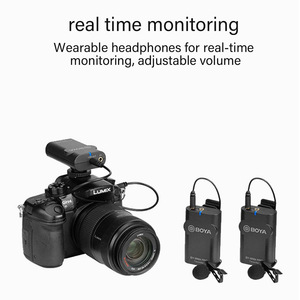 Image 5 - BOYA BY WM4 Pro K2 K1 telefonu kablosuz Lav mikrofon Video ses yaka mikrofonu DSLR kamera DV için Smartphone Vlog canlı akış