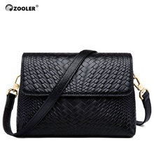 цены ZOOLER Bags handbags women famous brand messenger bag for lady genuine leather bag cross body China hot sale  #6152