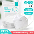 5-200 штук KN95 маска CE FFP2 маски для лица 5 слоев Фильтр Защитный Здравоохранения FFP2Mask 95% респиратор рот Mascarillas