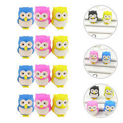 30 Pcs Decorations Ornaments Gifts Erasing Stationery Lovely Novel Cartoon Practical Owl Erasers  Erasers Stationery for Home Of