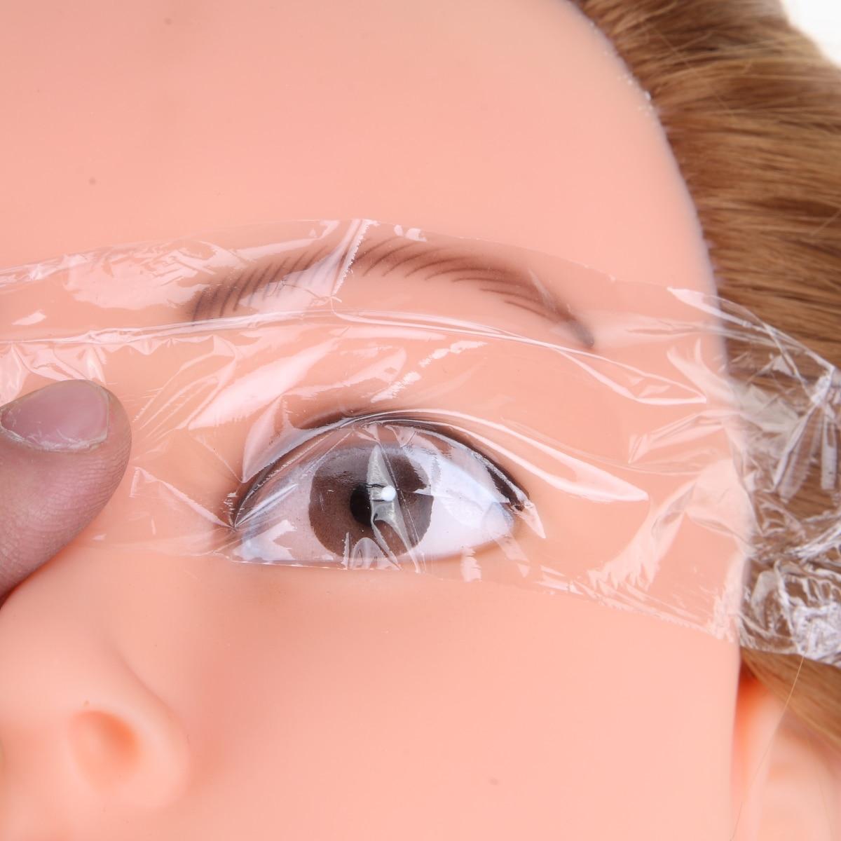 Пластиковая пленка для обертывания, Полуперманентная пленка для макияжа, тату, бровей, тату, защитный аксессуар, 1 рулон