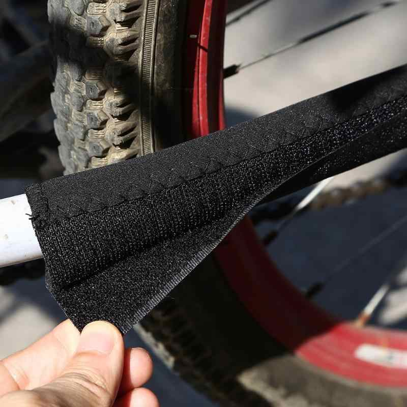 Nouveau vélo cadre de vélo chaîne rester posté protecteur noir Polyester chaîne garde Protection cyclisme accessoires éviter les frottements