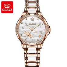 SHOWTIME clock women watches gold ladies brand luxury Fully