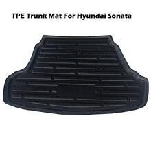 Задний багажник коврик отсек tpe водонепроницаемый пол для hyundai