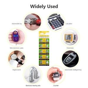 Image 3 - YCDC 20pcs 1.55v AG8 Watch Clock Battery Pilas 191 381 391 391A GP391 LR1120 LR1120W SR1120W Button Coins Celula Long Lasting