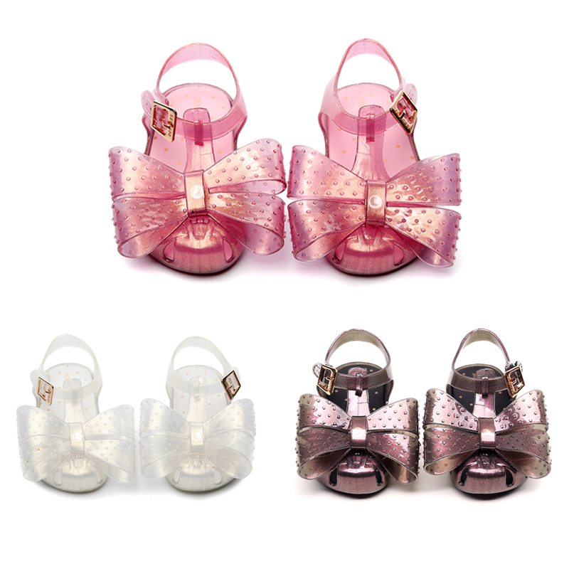 Mini Melissa 2020 New Kids Cartoon Sandals Girls Shoes Boys Sandals Kids Beach Sandals Breathable Melissa Children Shoes