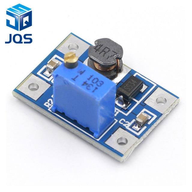 2-24V to 2-28V 2A DC-DC SX1308 Step-UP Adjustable Power Module Step Up Boost Converter for DIY Kit 3