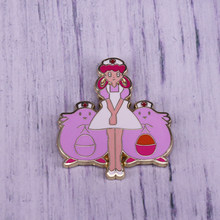 Megahouse Pokemon Perawat Sukacita & Chansey Enamel Pin(China)