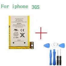 Bateria Do Telefone móvel Para O iphone 3GS 3GS Real Capacidade 1420mAh 3.8V bateria para iphone Com Ferramentas de Reparo Kit