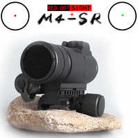M4 Professional red dot Sight Combination Sight for 20mm rail rifle airsoft outdoors hunting scope riflescope hunting optics