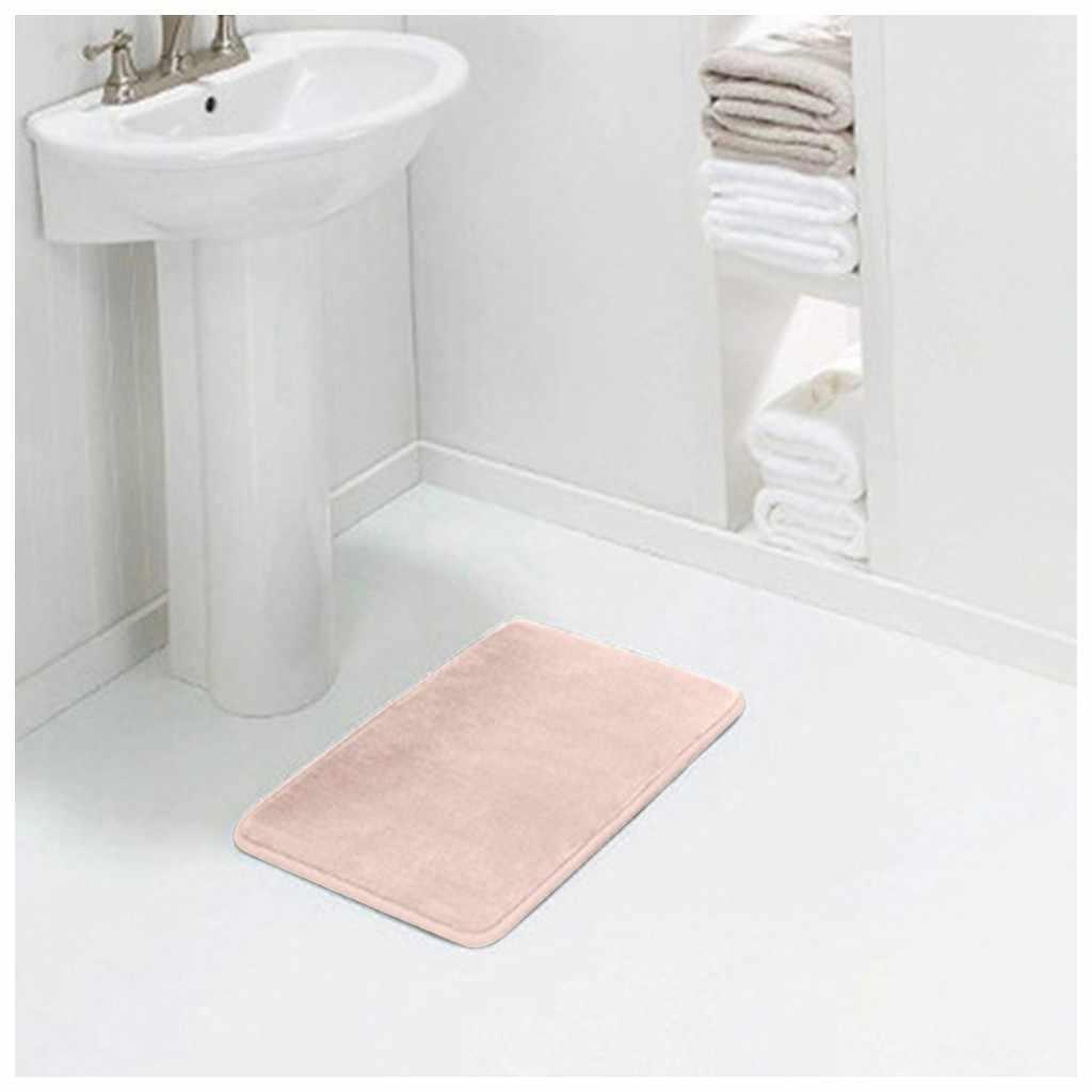 Memory Bath Mat Anti Slip Rug With