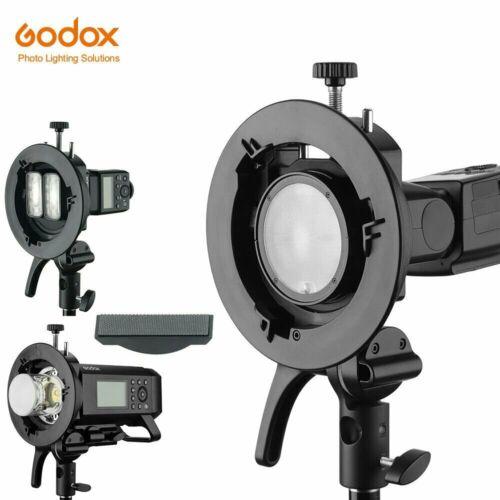 JINTU Godox S2 Bowens Mount S-type Holder Bracket For Godox V1 AD400PRO AD200pro Flash Speedlite