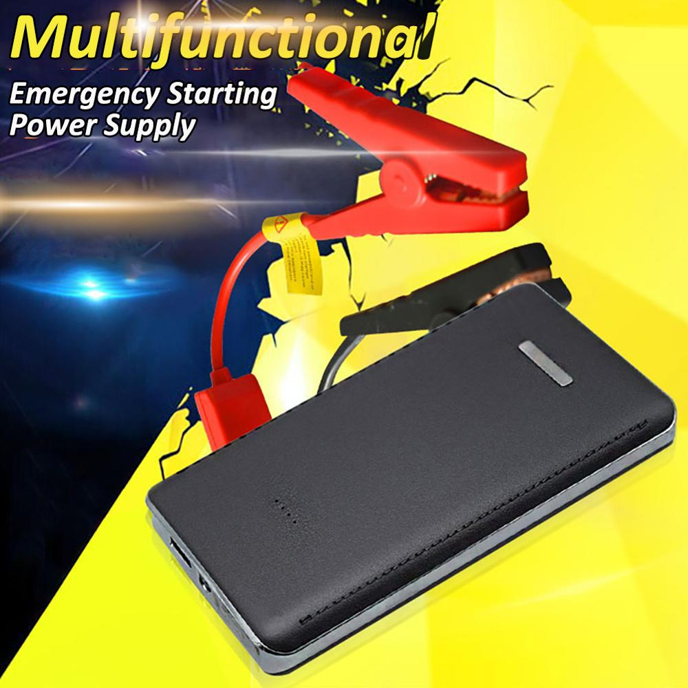 Practical 12V 8000mAh Mini Portable Multifunctional Car Jump Starter Power Booster Battery Charger Emergency Start Charger CSV