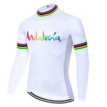 Team rainbow-maillot de ciclismo para hombre, jersey de secado rápido, para verano...